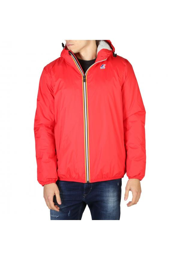 K-Way Jackets LE-VRAI-K005DH0 - Red