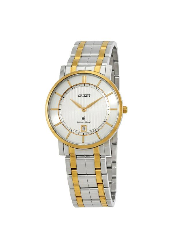 Classic White Dial Watch