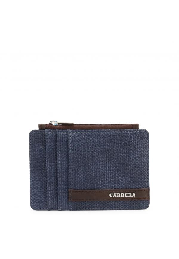 Carrera Jeans DERBY Small Leather Goods Wallets - Blue