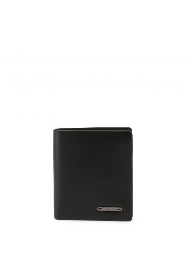 Guess Small Leather Goods Wallets - Black