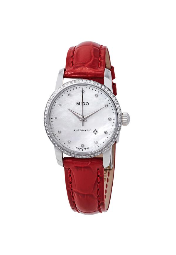 Baroncelli Automatic Mother of Pearl Diamond Dial Ladies