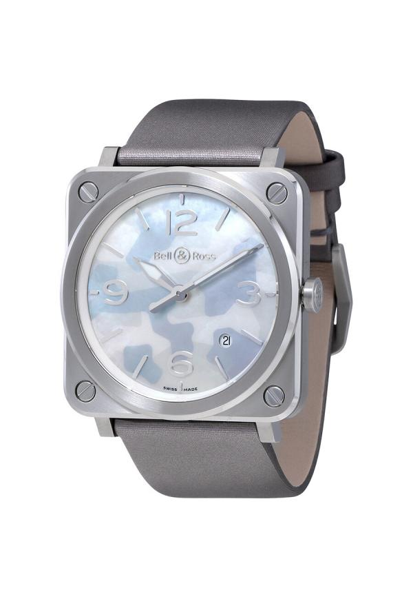 Aviation Grey Camouflage Mother of Pearl Dial Ladies